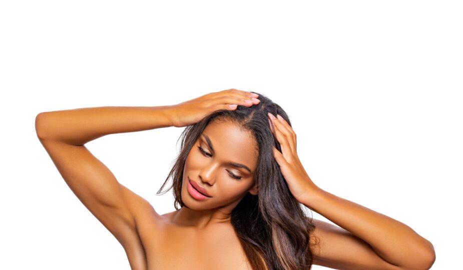 Perruque en cheveux naturels